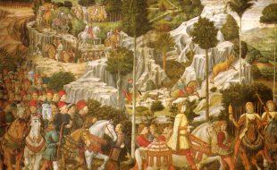 L'affresco di Benozzo Gozzoli nella Cappella dei Magi in Palazzo Medici Riccardi