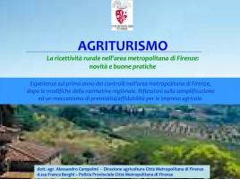 Slide Covegno Agriturismi