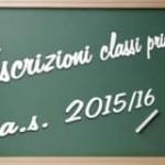 Lavagna iscrizioni scolastiche 2015-2016