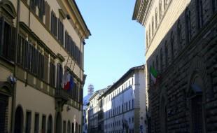 I Palazzi della Regione e della Città Metropolitana di Firenze in via Cavour