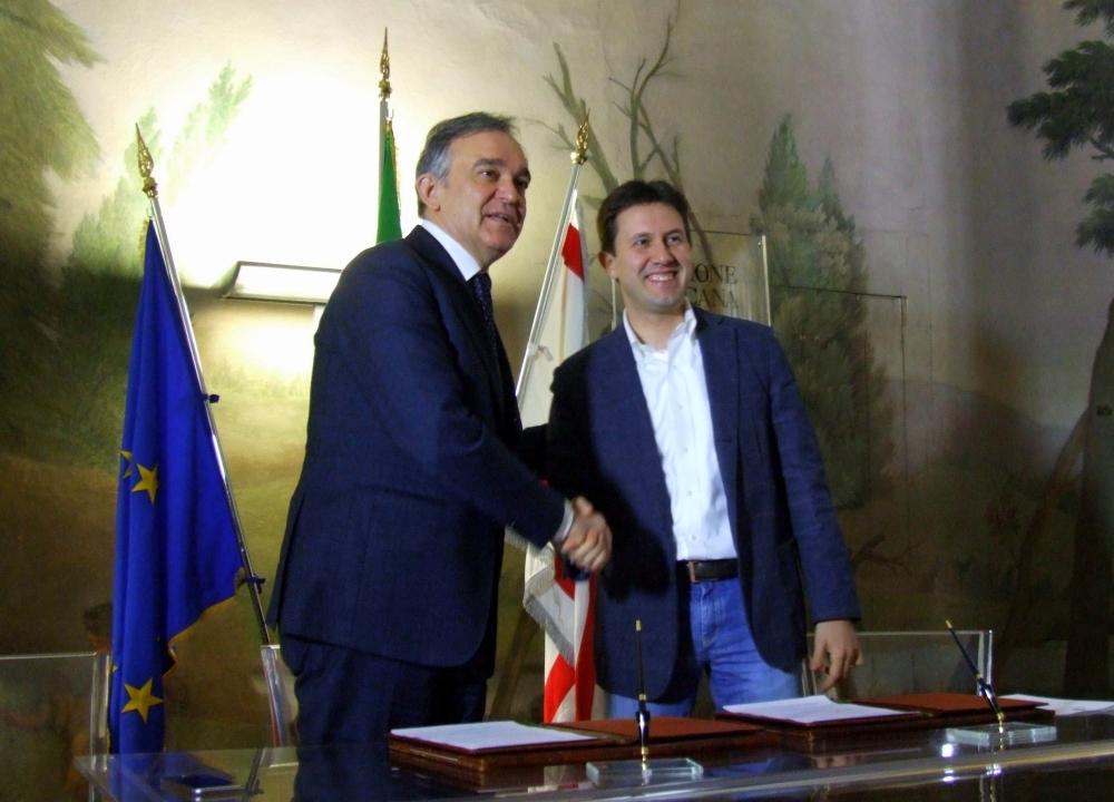 Enrico Rossi e Dario Nardella (foto Antonello Serino)