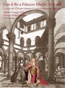 Locandina del Re a Palazzo Medici Riccardi