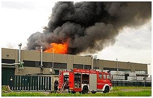 Rischio industriale - incendio