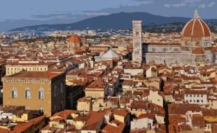 Firenze e la cattedrale di Santa Maria del Fiore