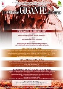 Il programma delle due domeniche al Parco di Pratolino