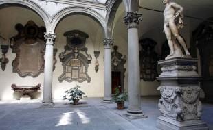 Cortile di Michelozzo in Palazzo Medici Riccardi