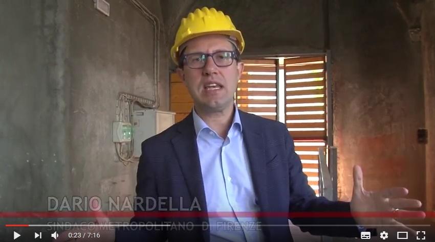 Sindaco Dario Nardella a Sant'Orsola