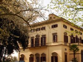 Il centro Tempo Reale, con sede in Villa Strozzi al Boschetto - Wikimedia
