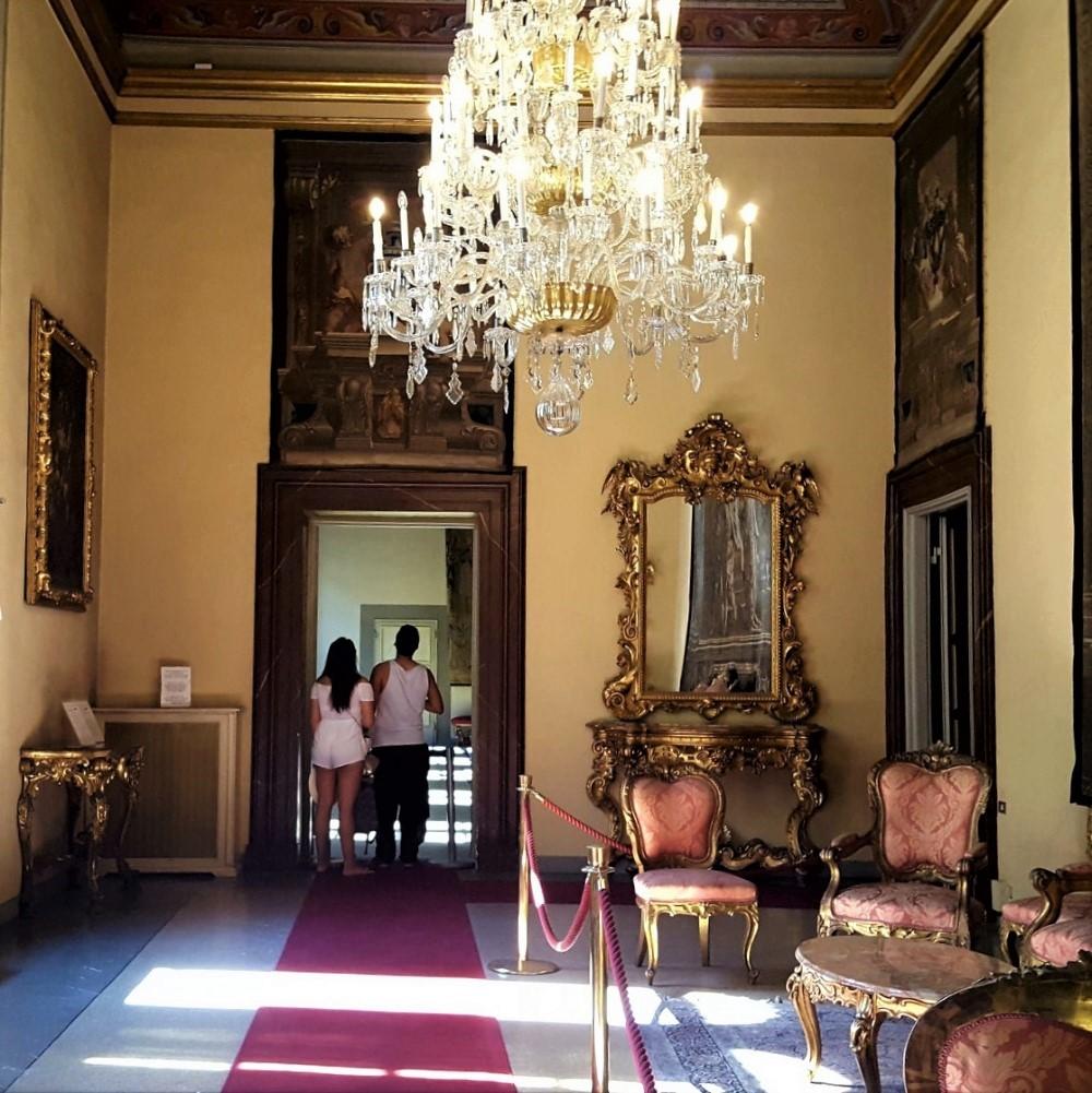 Sala espsitiva in Palazzo Medici Riccardi