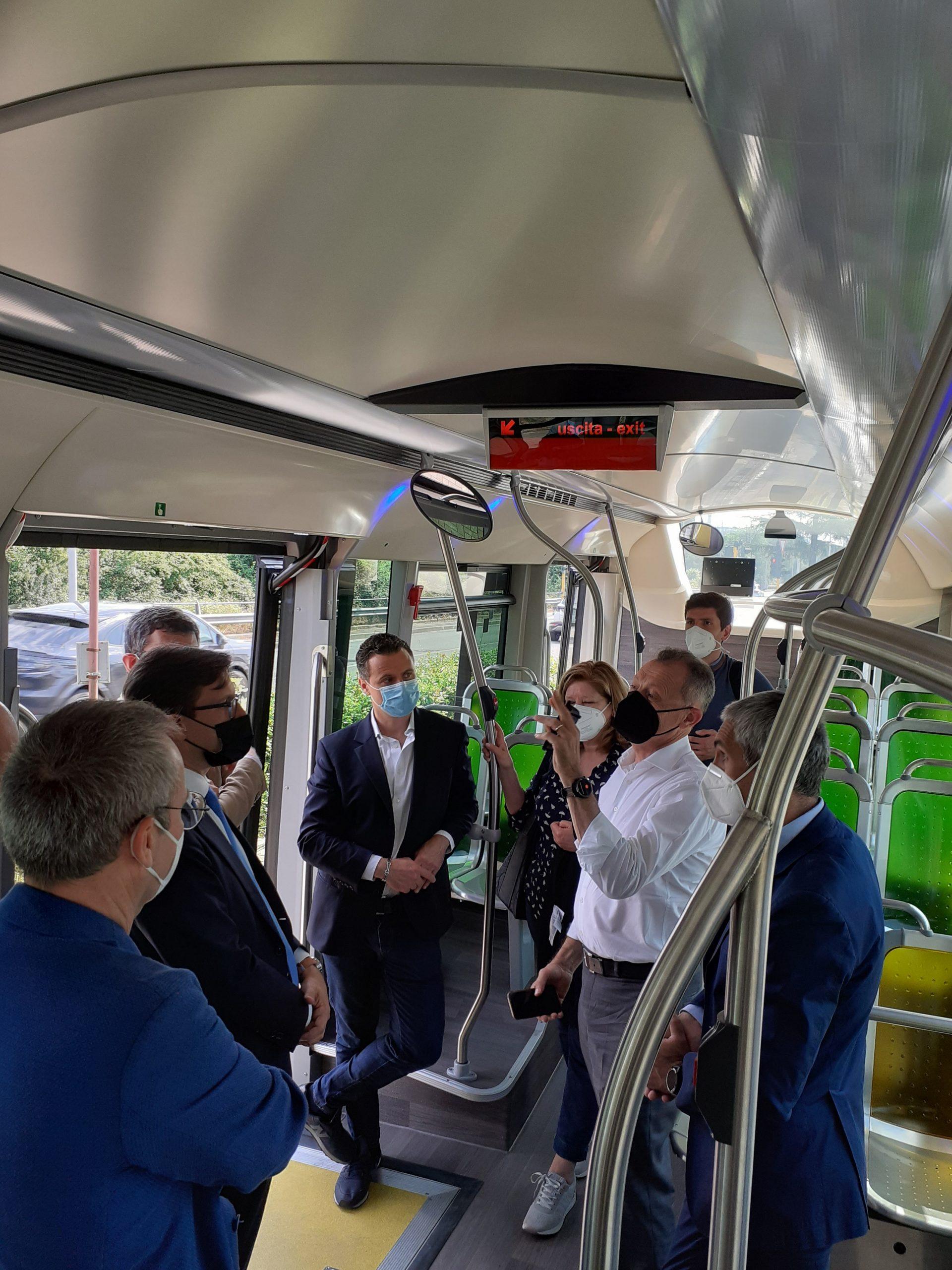 Test per i Bus rapid transit
