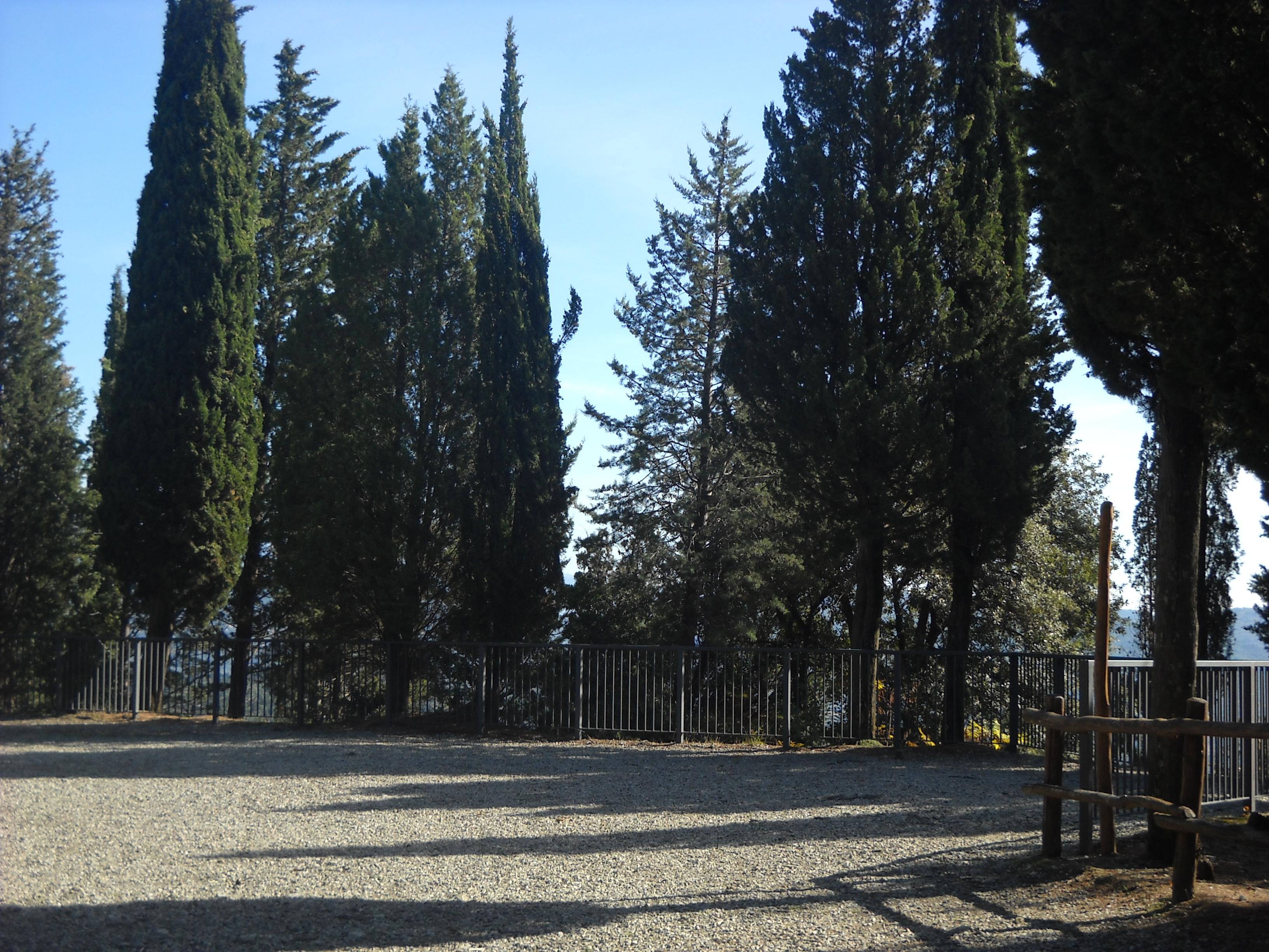 Vista del Piazzale Leonardo da Vinci (di Giuliana Profeti)