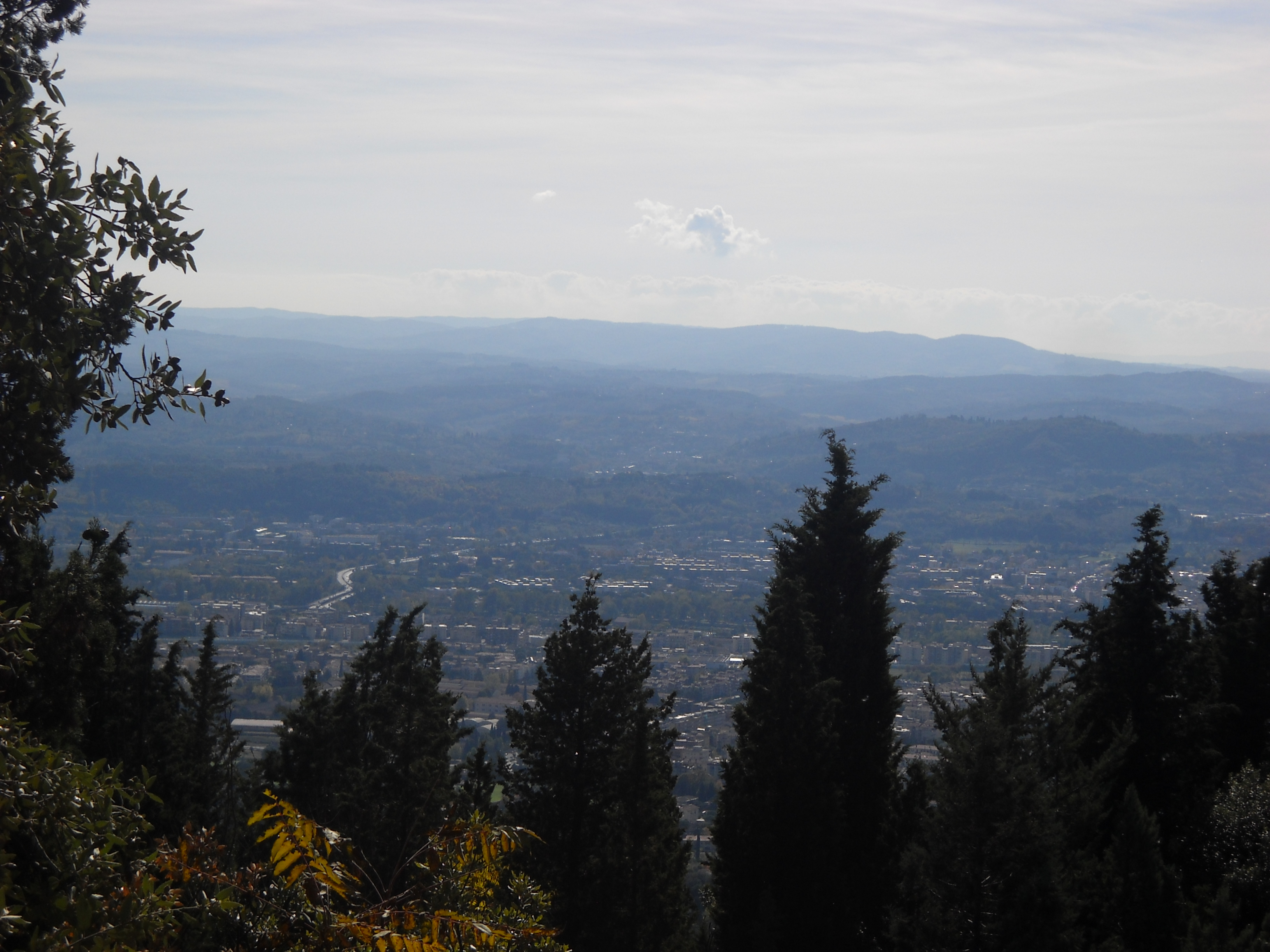 Vista su Firenze da Piazzale Leonardo (di Giuliana Profeti)