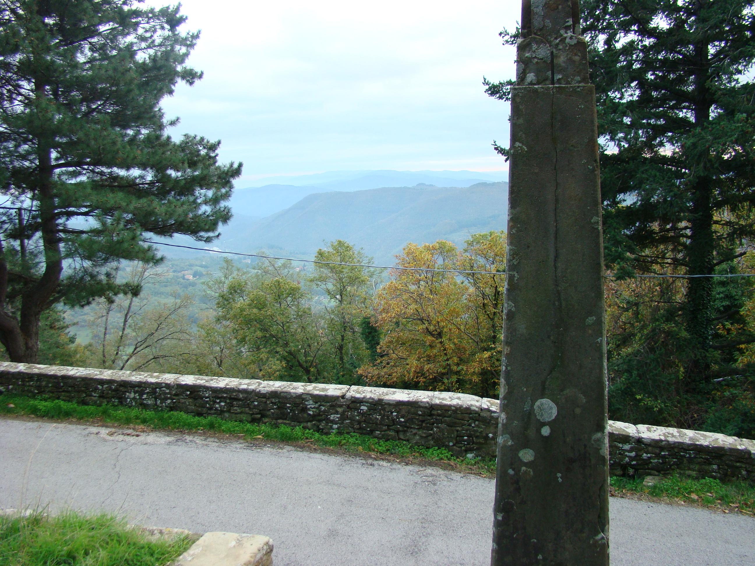 Panorama sulla vallata (di Giuliana Profeti)