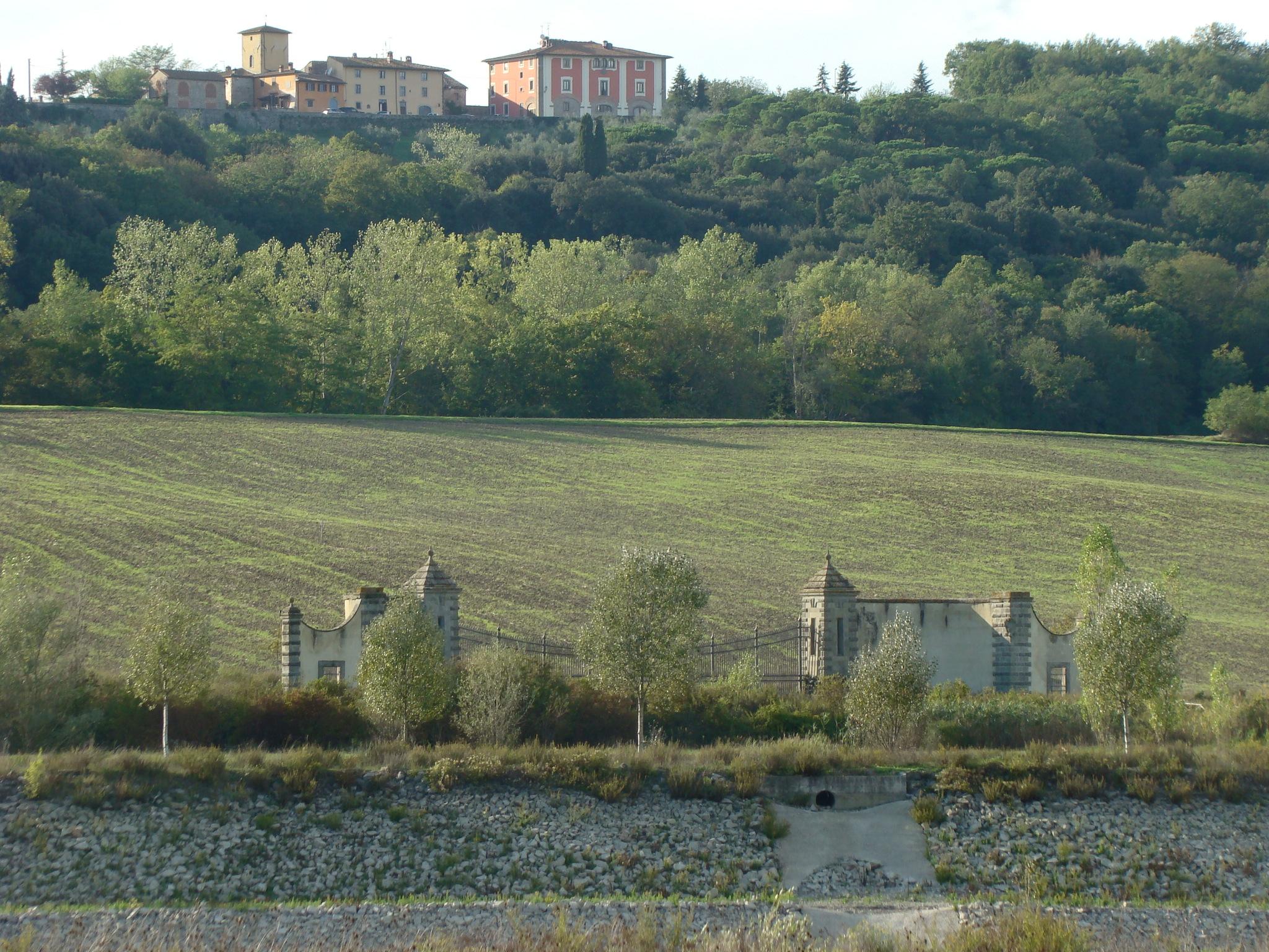 Panorama dal percorso naturalistico (di Giuliana Profeti)