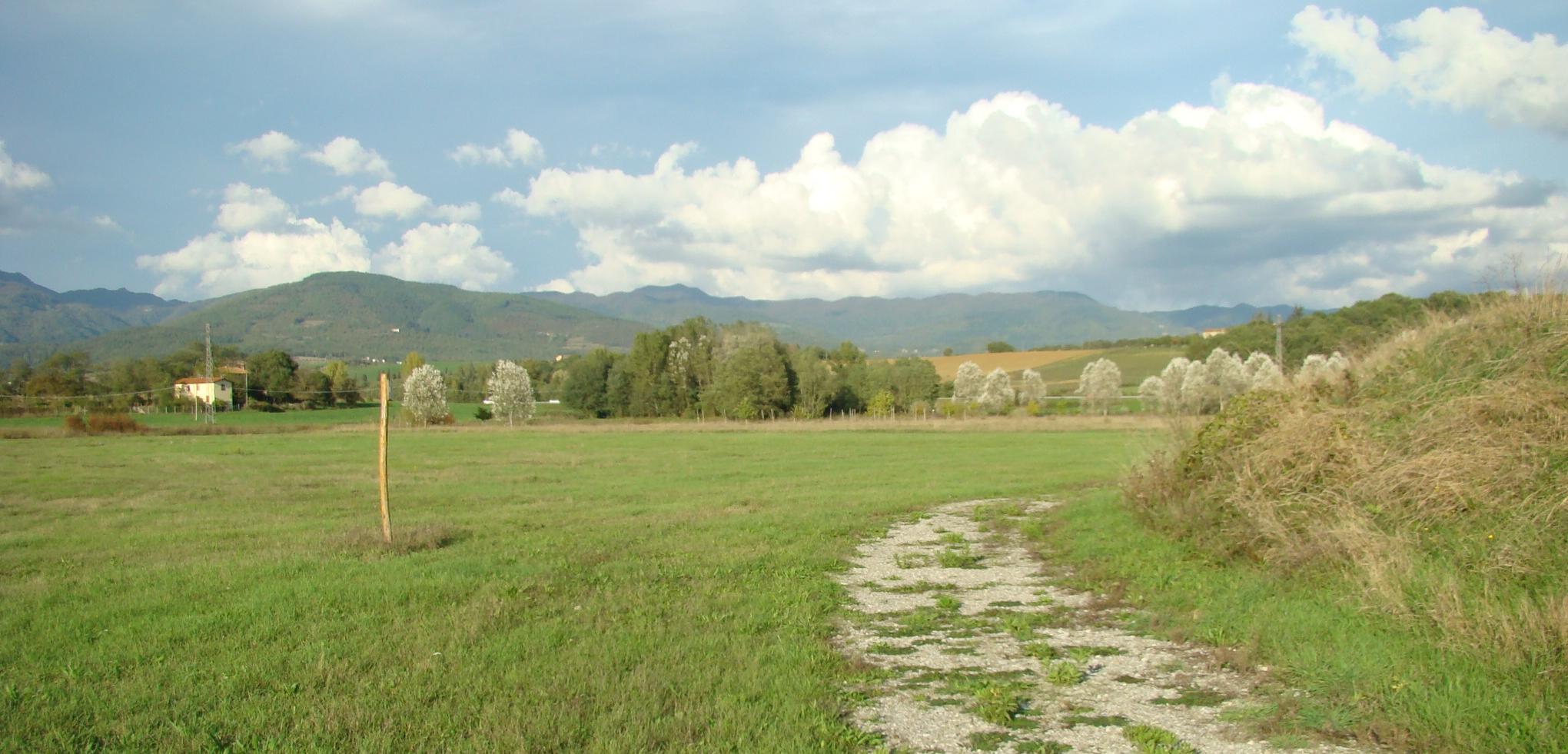 Panorama lungo il percorso naturalistico (di Giuliana Profeti)