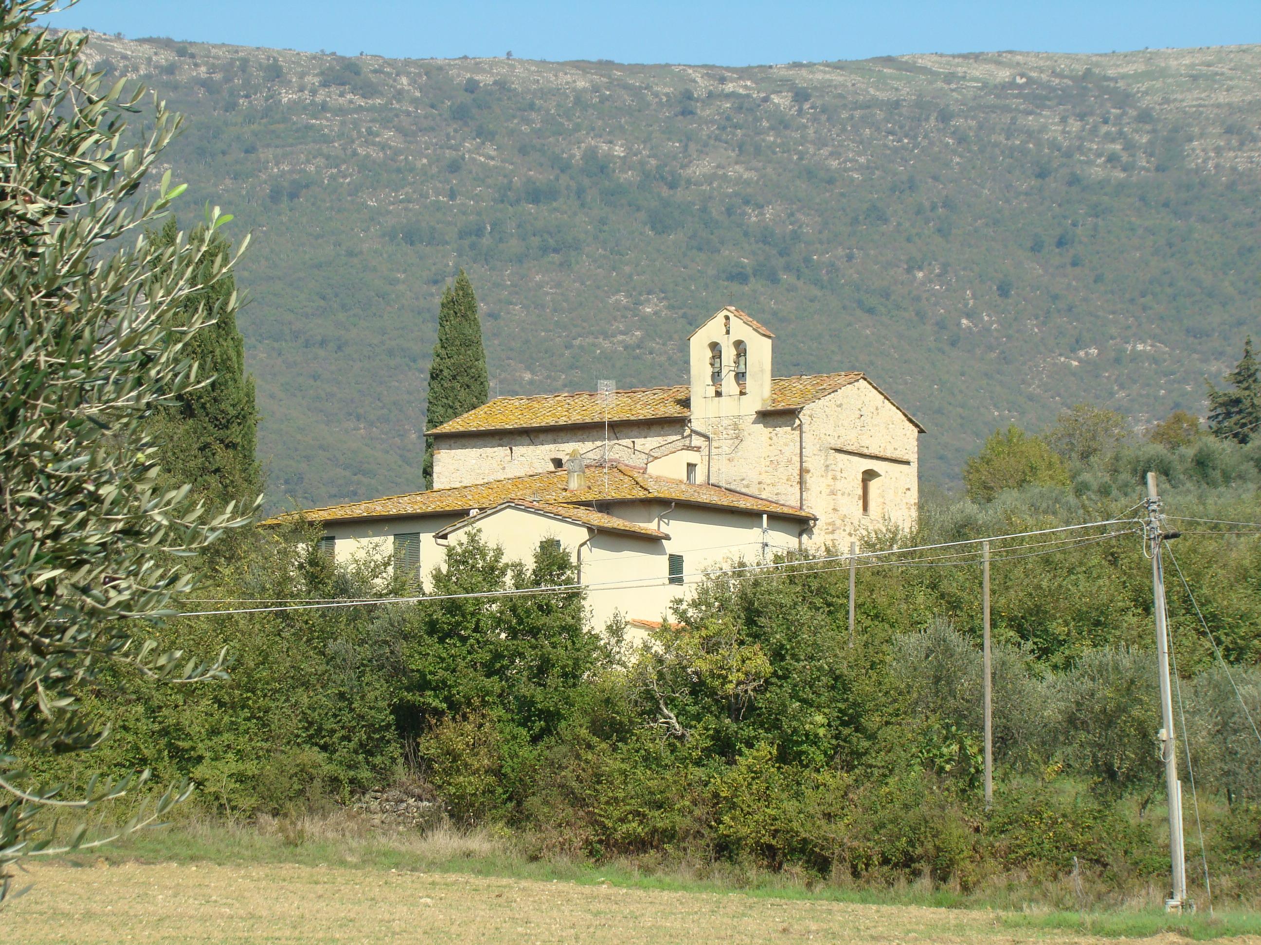 Chiesa di Santa Maria a Travalle (di Giuliana Profeti)