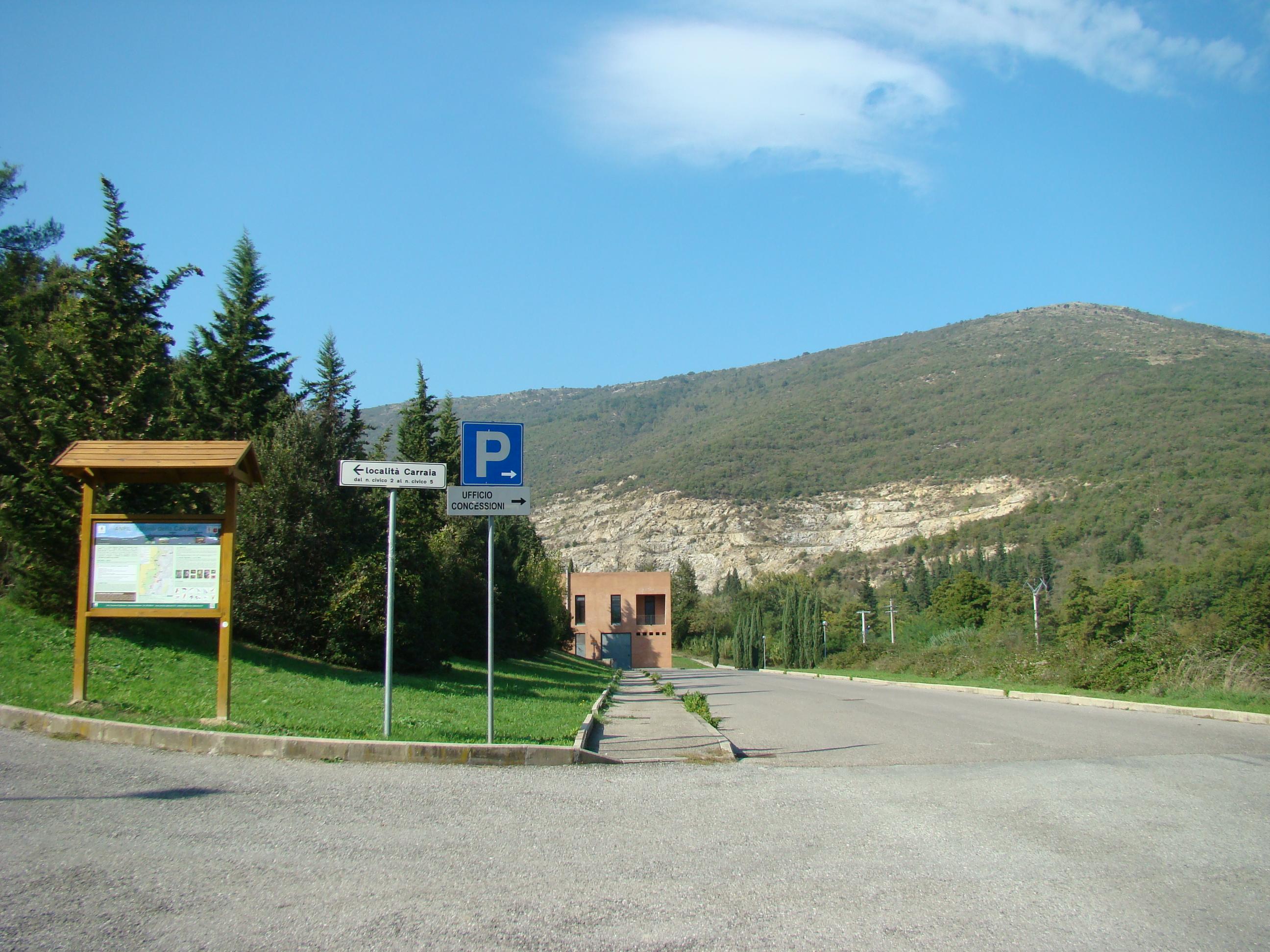 Panorama all'ingresso della ANPIL presso il Cimitero di Carraia (di Giuliana Profeti)