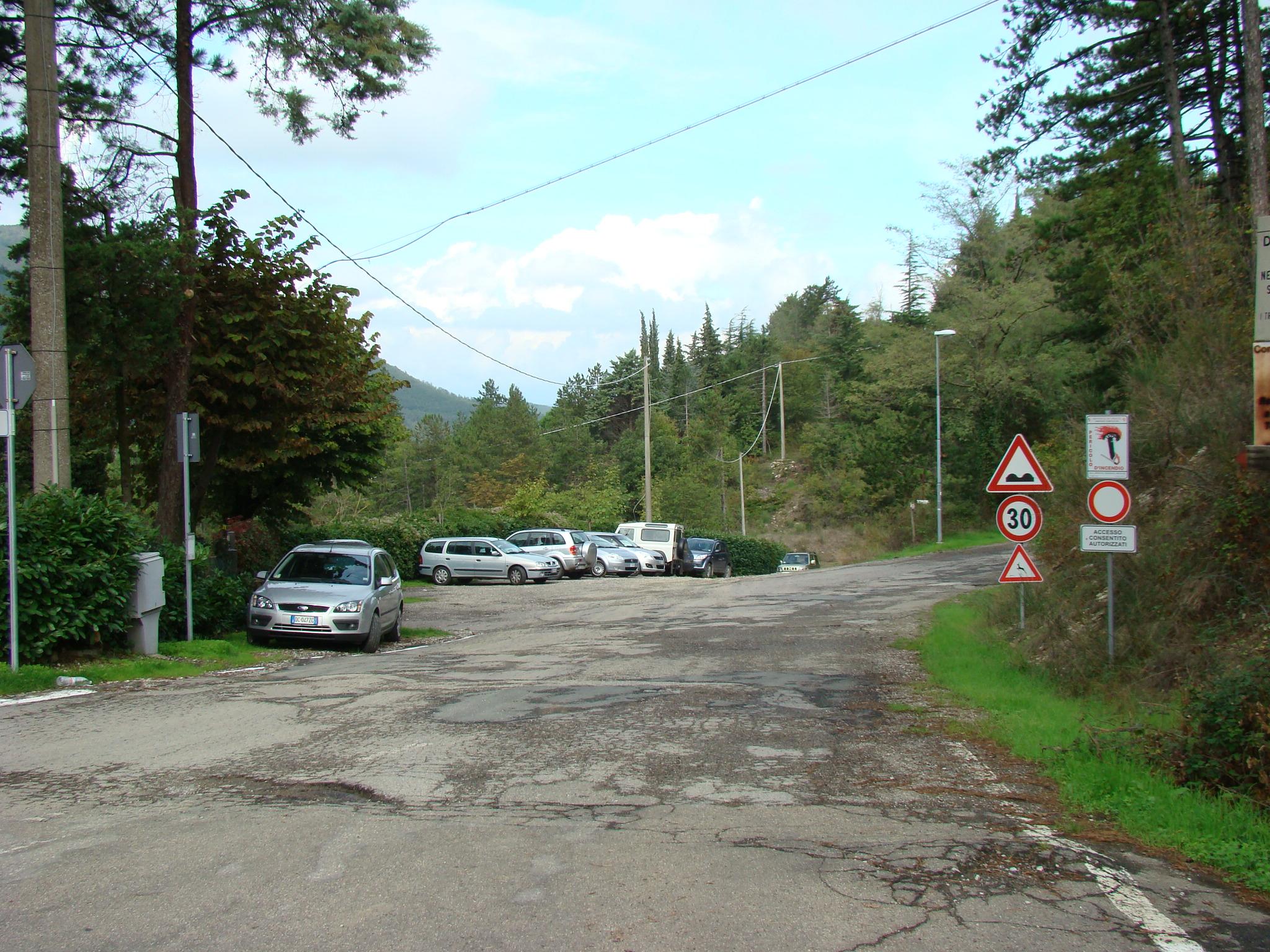 Parcheggio in località Ceppeto (di Giuliana Profeti)