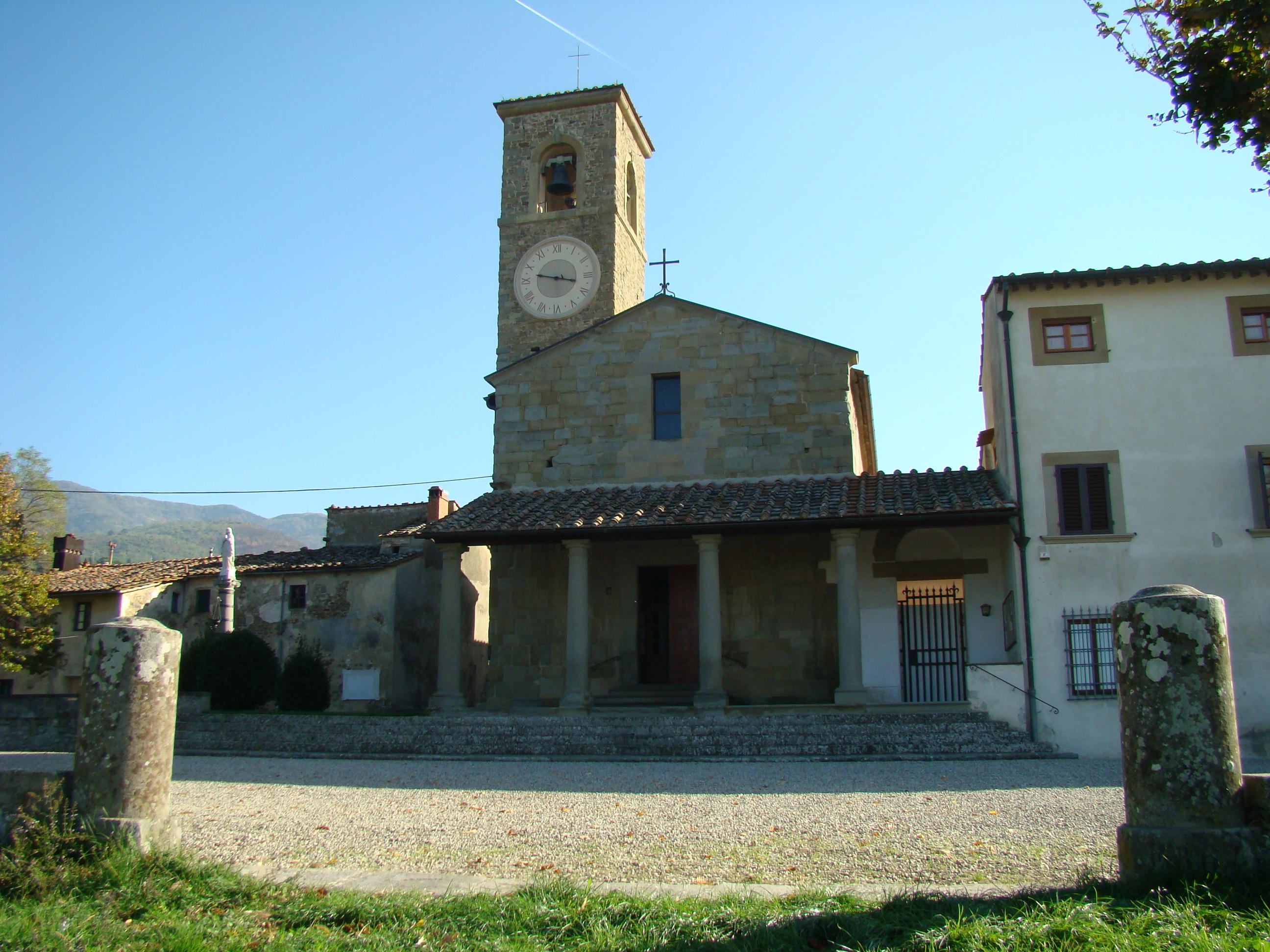 Pieve di Sant'Agata in Arfoli (di Giuliana Profeti)