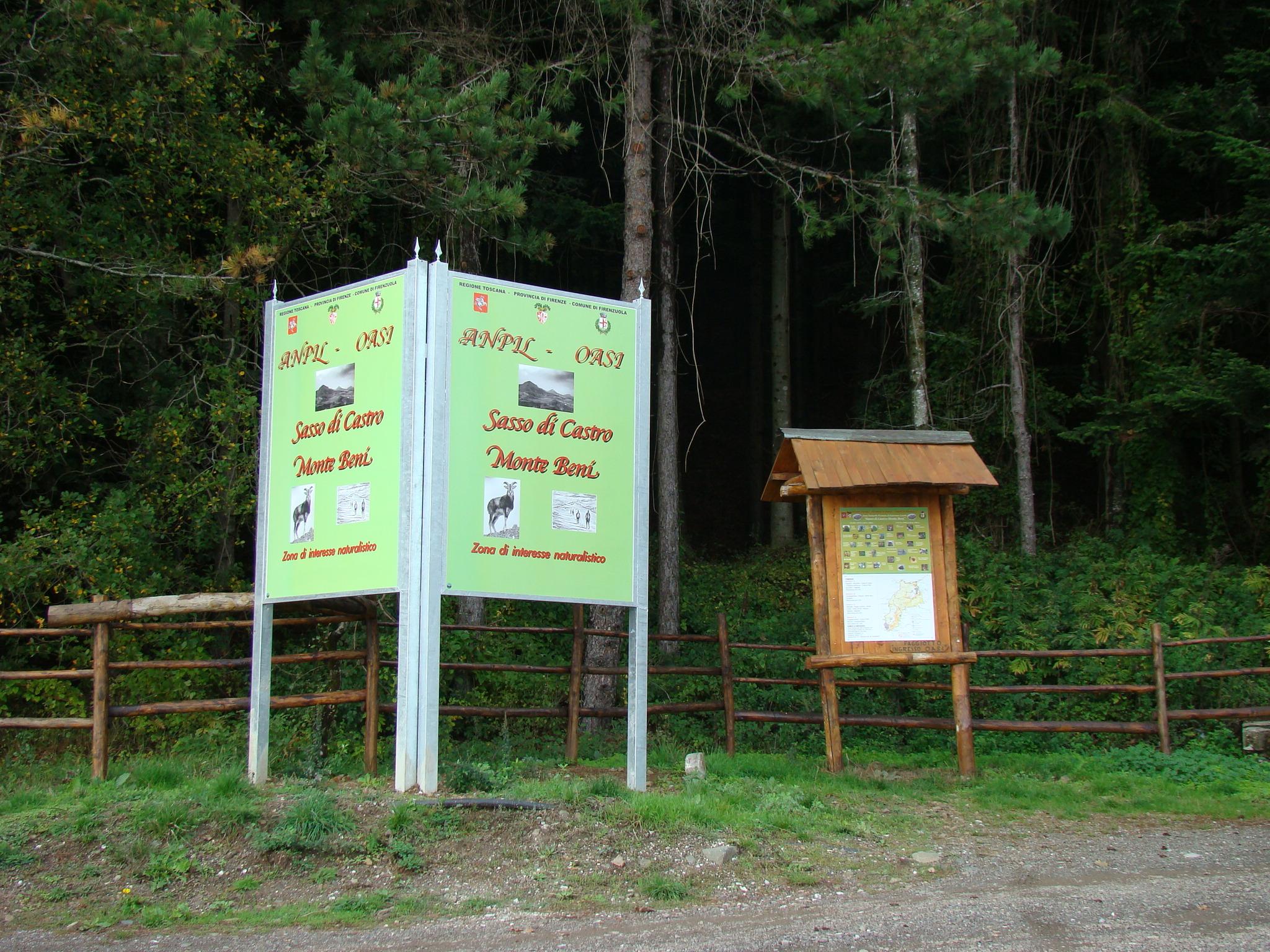 Ingresso ANPIL in località Faggiotto (di Giuliana Profeti)