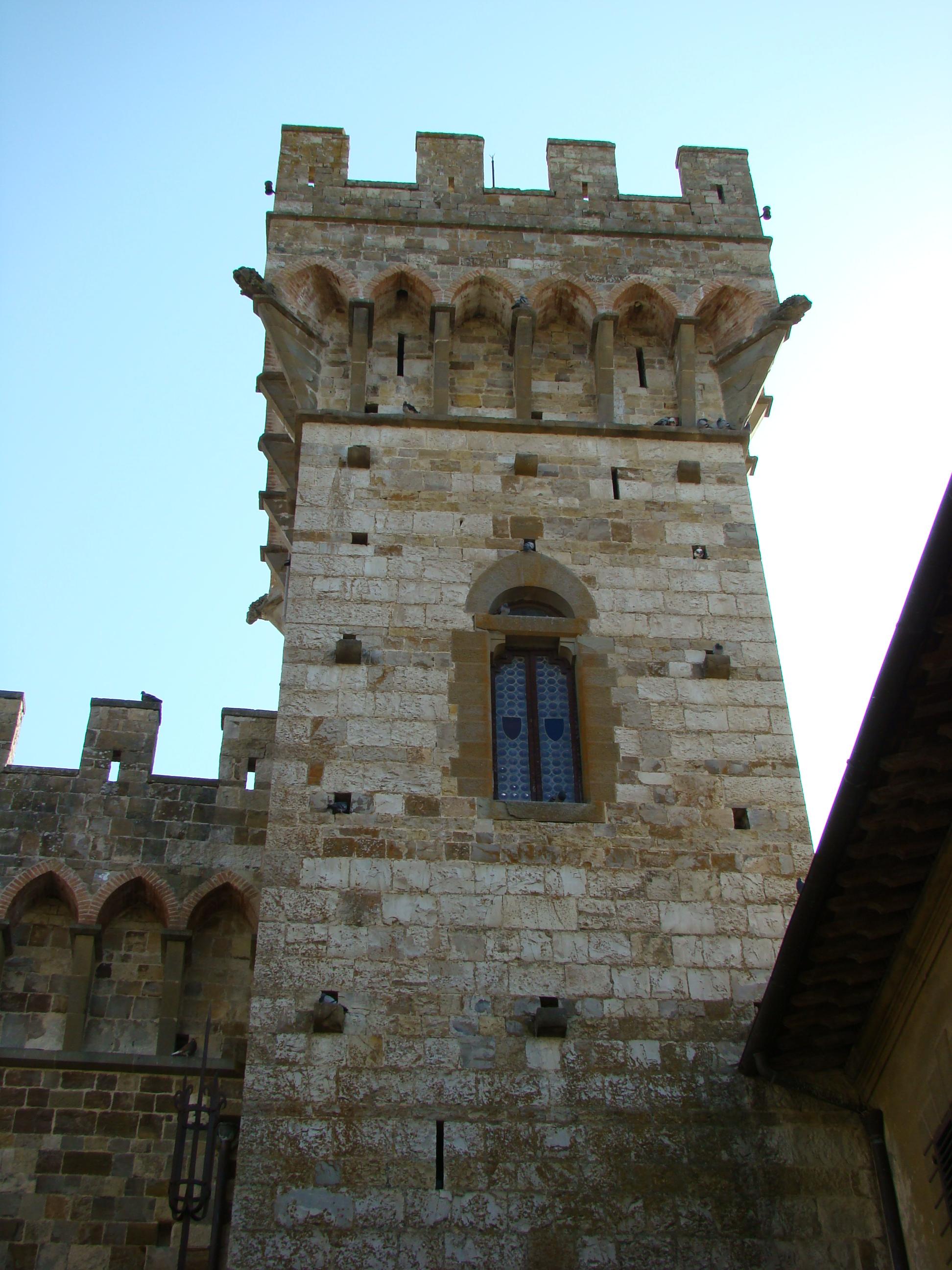 Torre nel complesso della Badia a Passignano (di Giuliana Profeti)