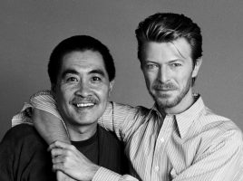 Bowie con Sukita-®Mark Higashino