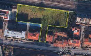 Terreno in locazione in via Aretina a Firenze - foto aerea