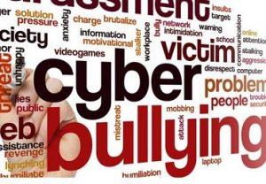 Grafica sul cyberbullismo sul sito dell'Università di Catania