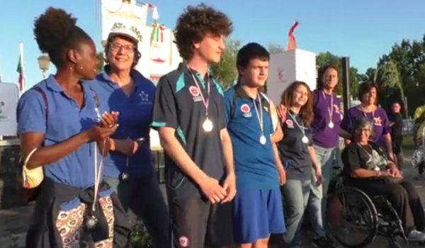 Un'immagine dalla chiusura delle Olimpiadi Metropolitane
