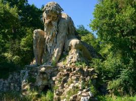 Il Colosso dell'Appennino nel Parco di Pratolino
