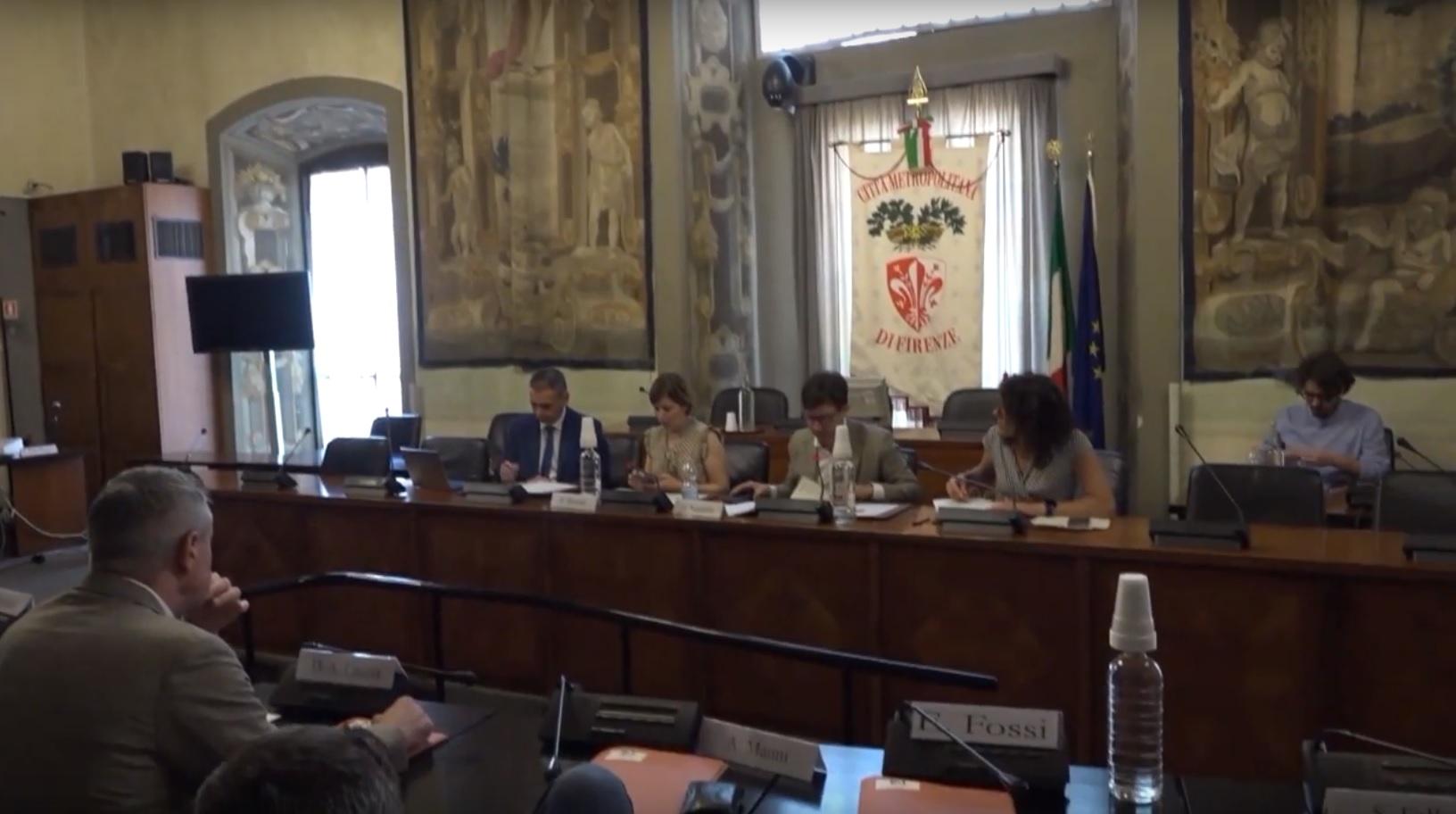Consiglio metropolitano Firenze