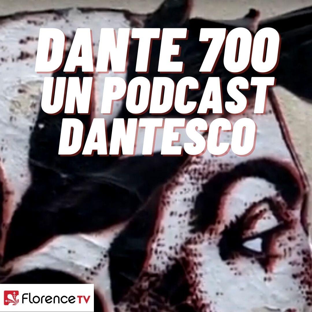 Il logo di 'DANTE 700 UN PODCAST DANTESCO'