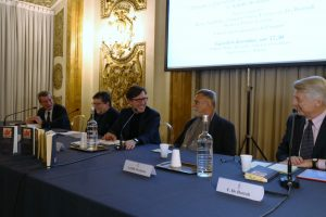 Vannino Chiti, Paolo Ermini, Dario Nardella, Achille Occhetto e Ferruccio De Bortoli
