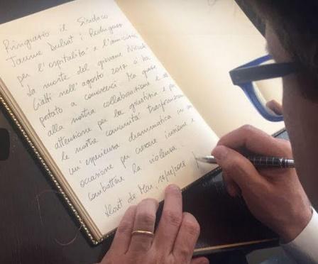 Dario Nardella a Lloret de Mar
