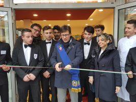 Dario Nardella inaugurazione scuola Buontalenti
