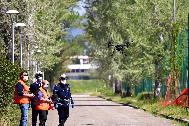 Droni della Città Metropolitana (foto di Antonello Serino)