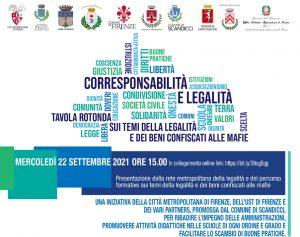 Educazione alla legalità nelle scuole della Metrocittà Firenze