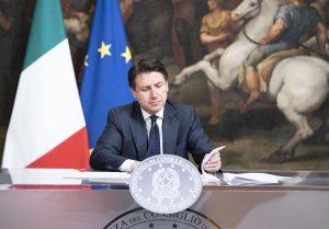 Il premier Giuseppe Conte (da www.governo.it)