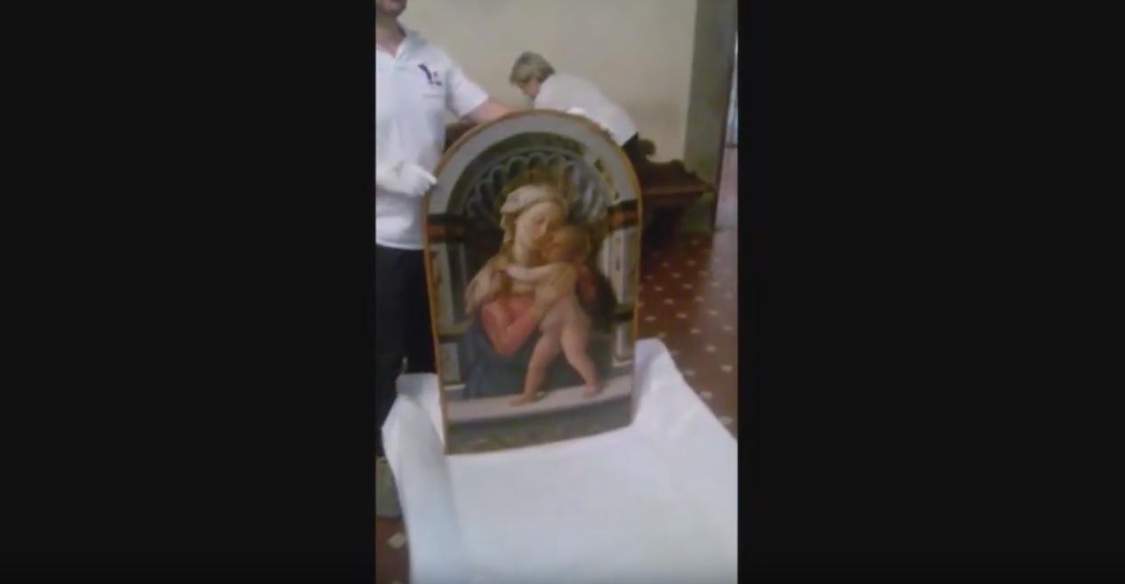 Madonna con bambino Filippo Lippi