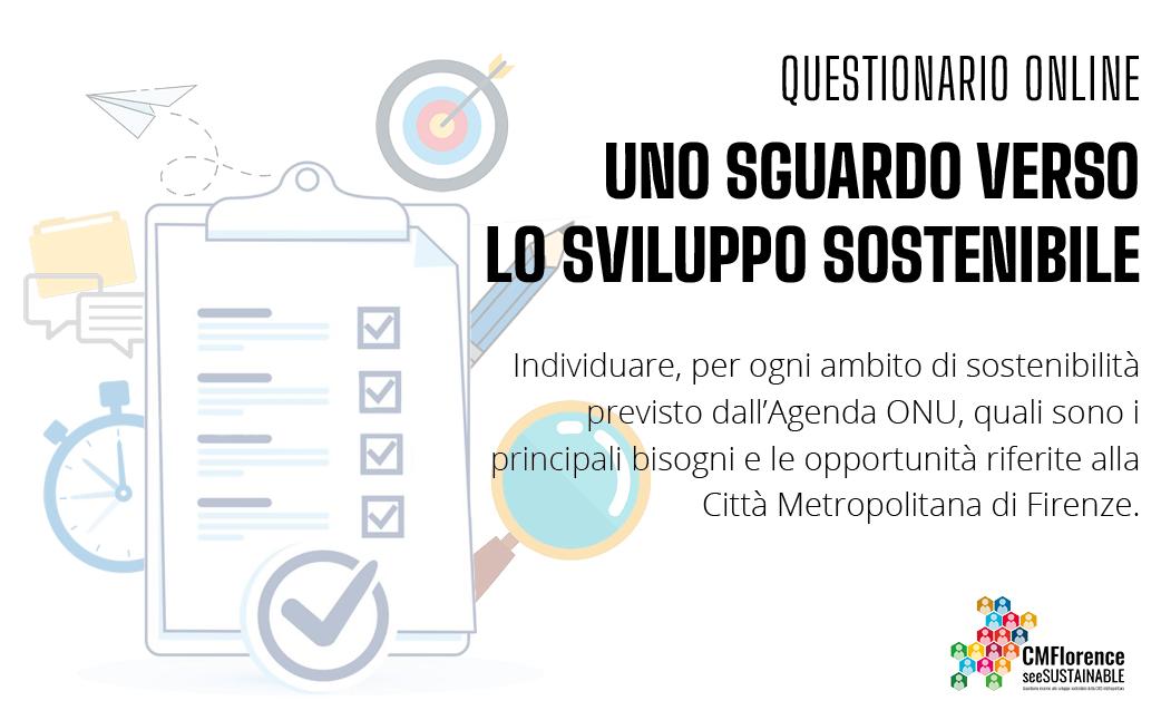 Immagine Identificativa Questionario Agenda 2030 Città Metropolitana di Firenze