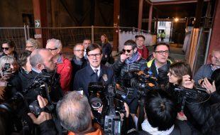 La conferenza stampa a Sant'Orsola