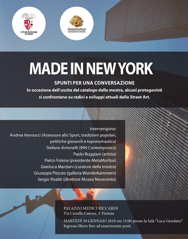 Made in New York Locandina