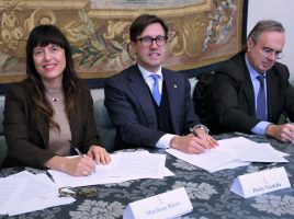 Marilena Rizzo, Dario Nardella e Luca Tescaroli
