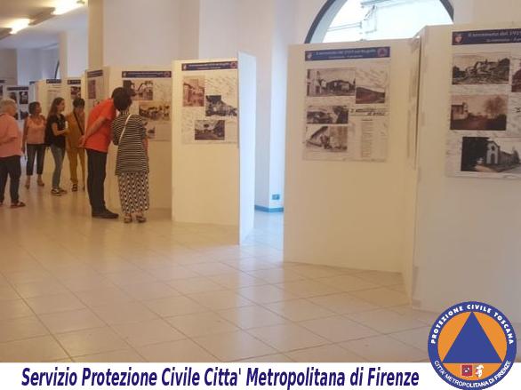 Una mostra della Protezione civile