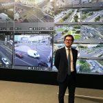 Il Sindaco Dario Nardella a Mosca nella Sala di controllo del traffico