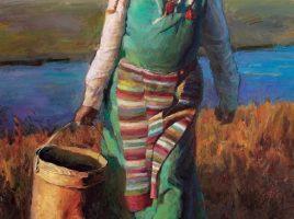 Olio su tela di Han Yuchen