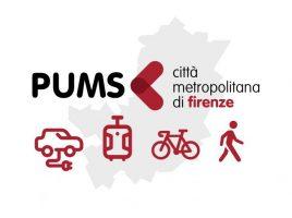 PUMS - Il logo del Piano urbano di mobilità sostenibile
