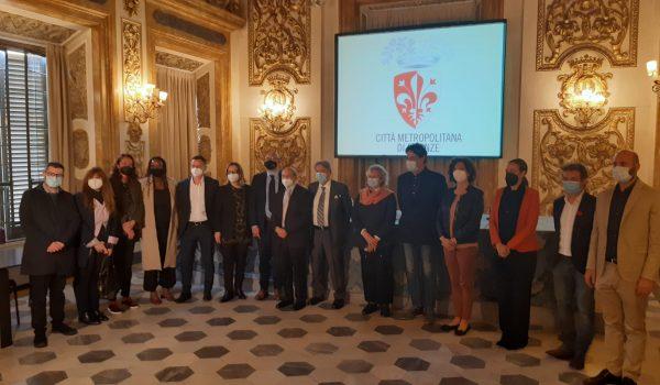 Palazzo Medici Riccardi - Amministratori alla firma del Patto per la legalità