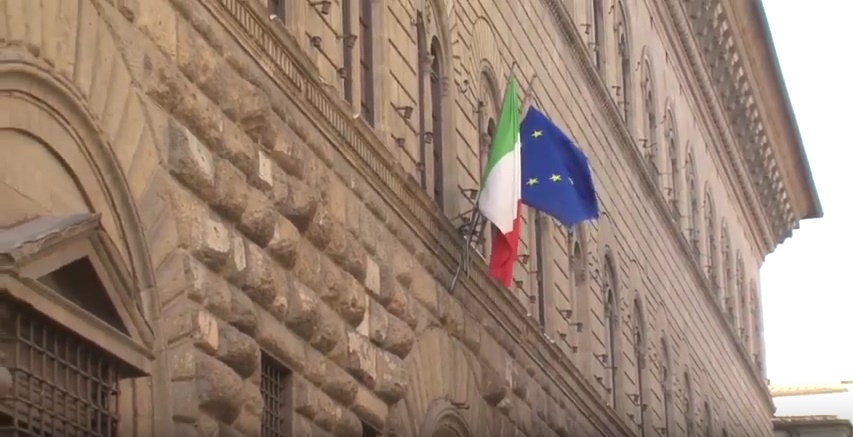 La facciata di Palazzo Medici Riccardi