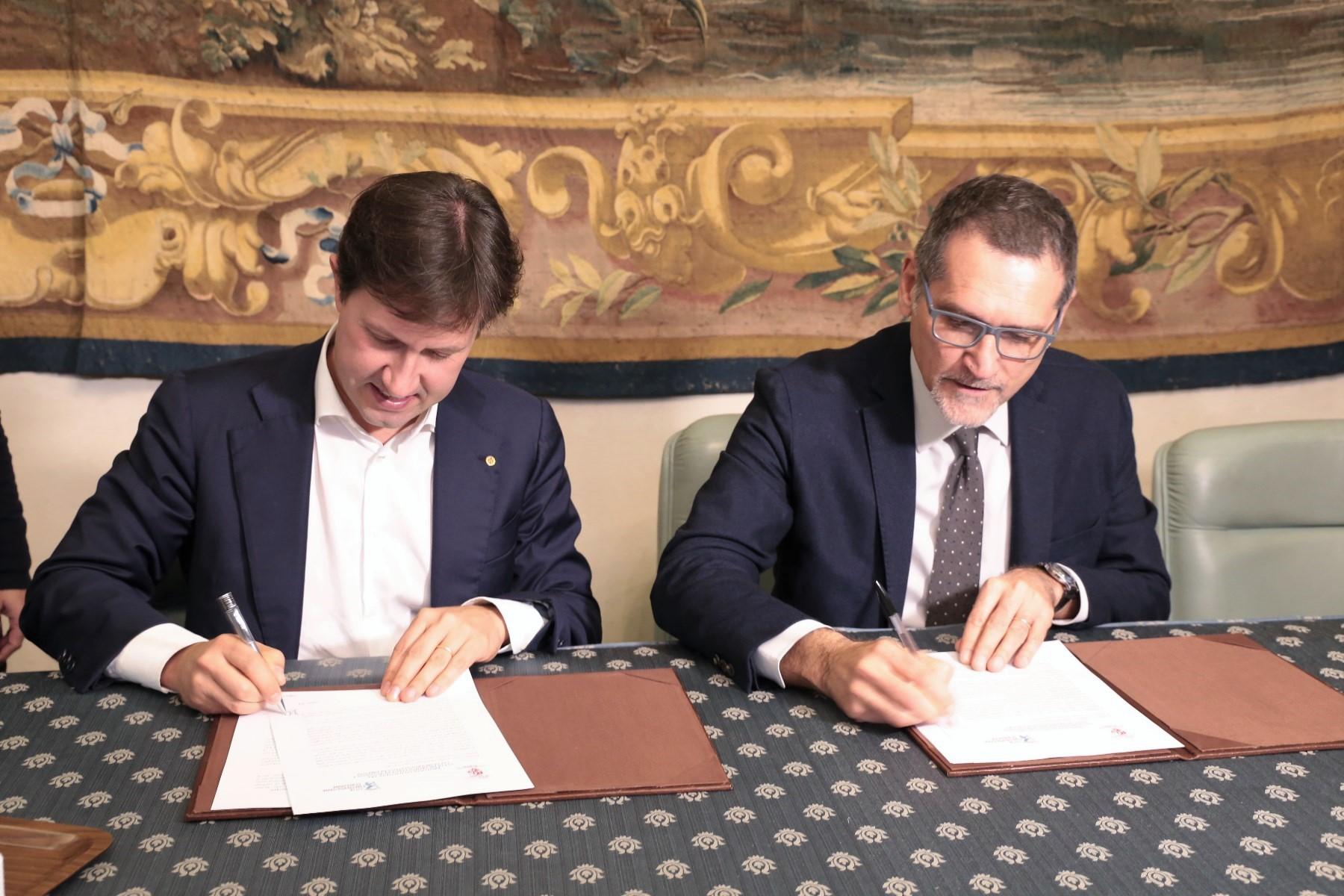 Protocollo intesa citta metropolitana Firenze e citta metropolitana Bologna